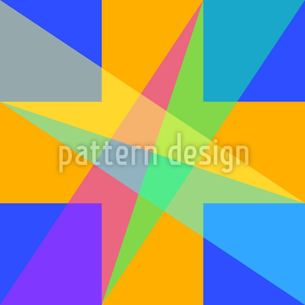 Designtapete Fenster Geometrie