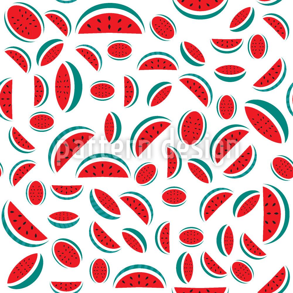 Designtapete Retro Meloni