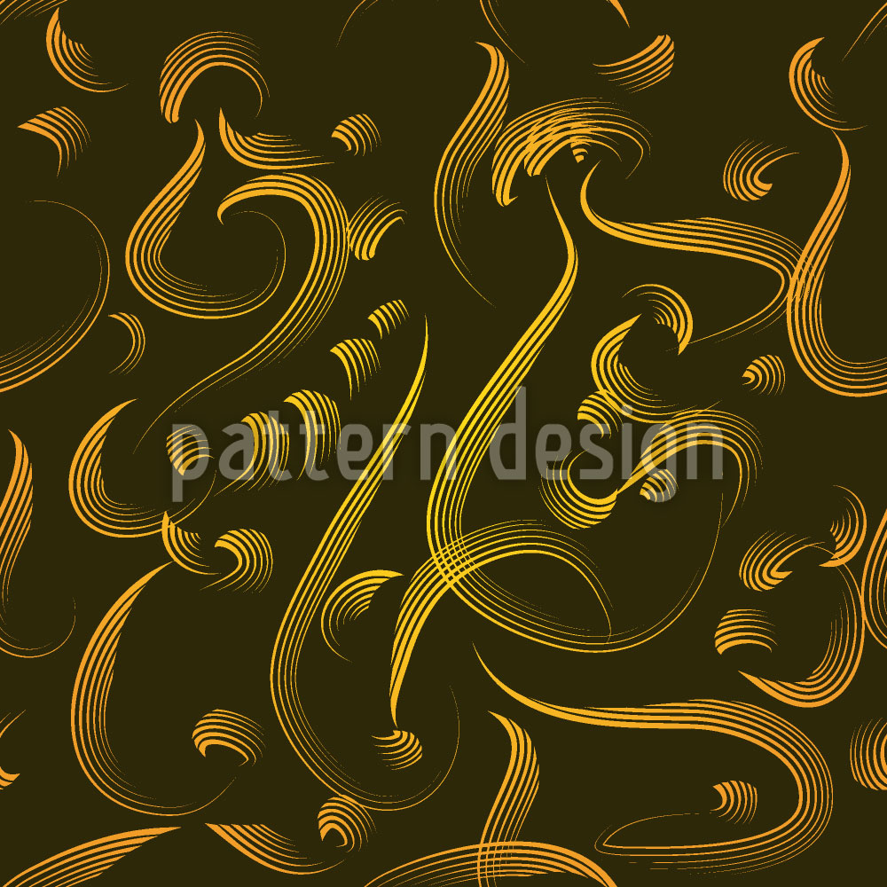 Designtapete Kalligraphie Aus Dem Orient