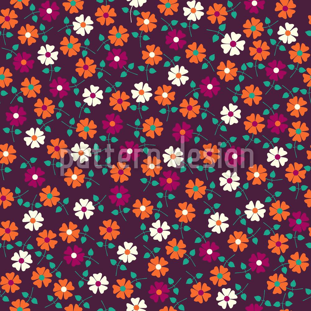Designtapete Blumen Sonatine