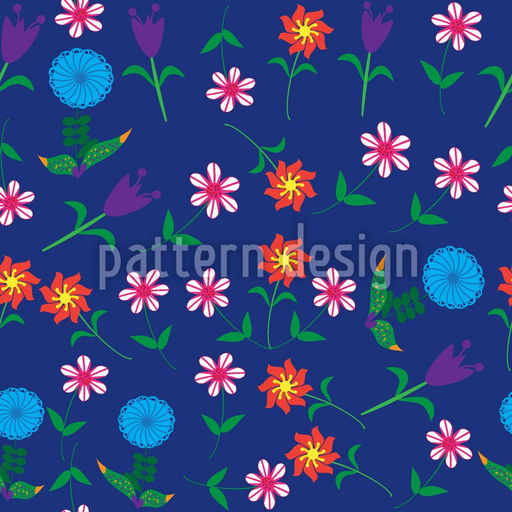 Designtapete Es Sprechen Die Blumen