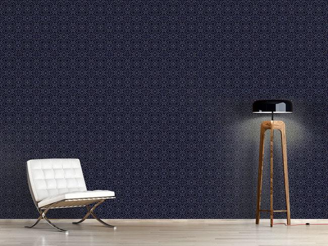 Designtapete Hochsee Pixel