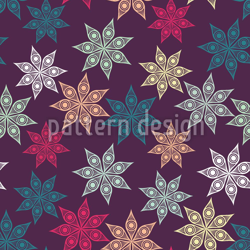 Designtapete Weihnachtlicher Sternenhimmel
