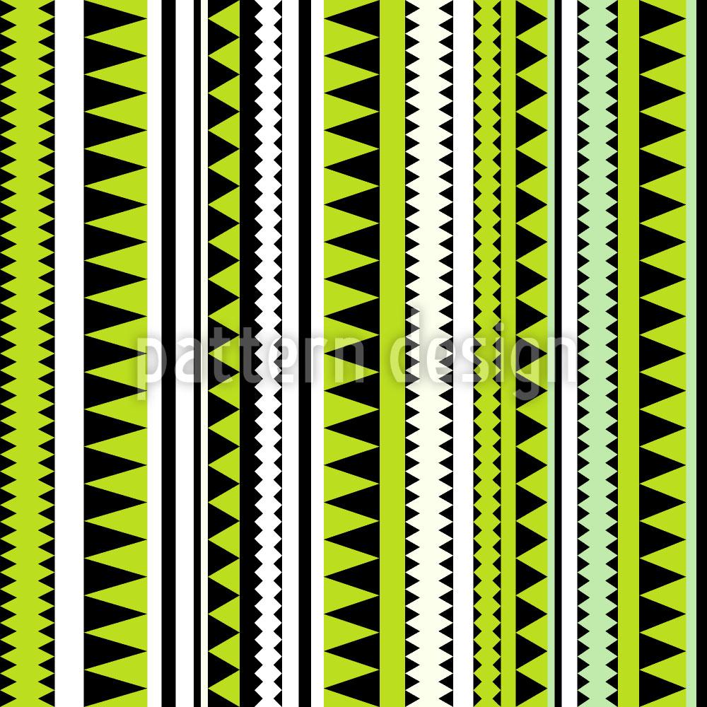 Designtapete Krokodil Streifen