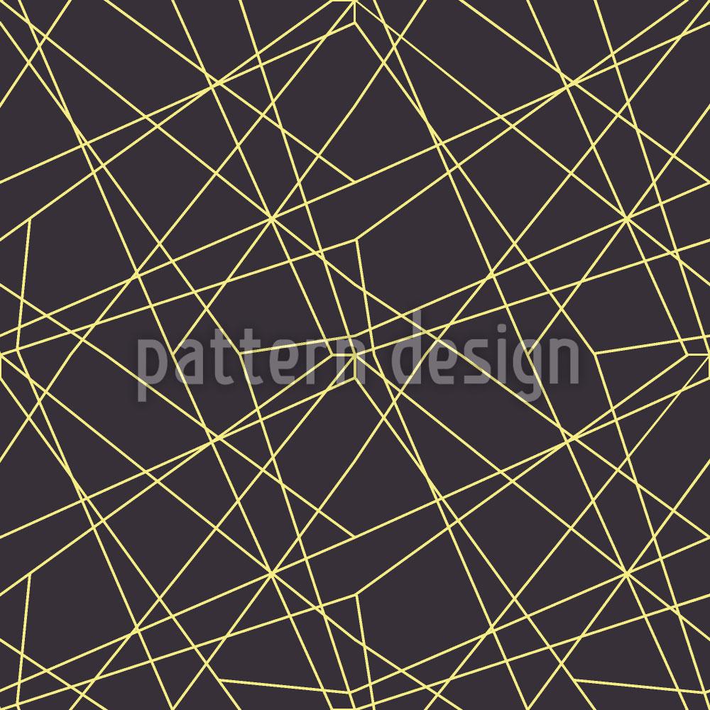 Designtapete Netz