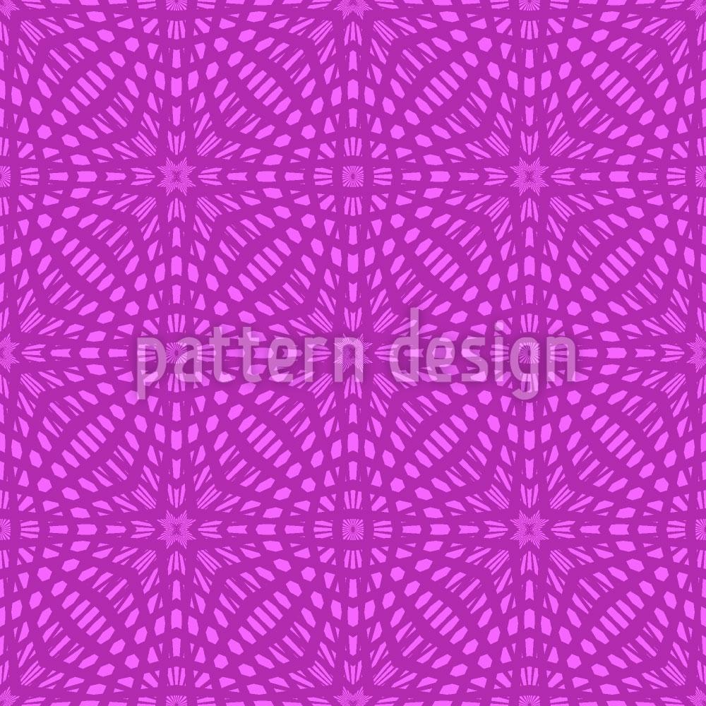 Designtapete Vieleck Dimension