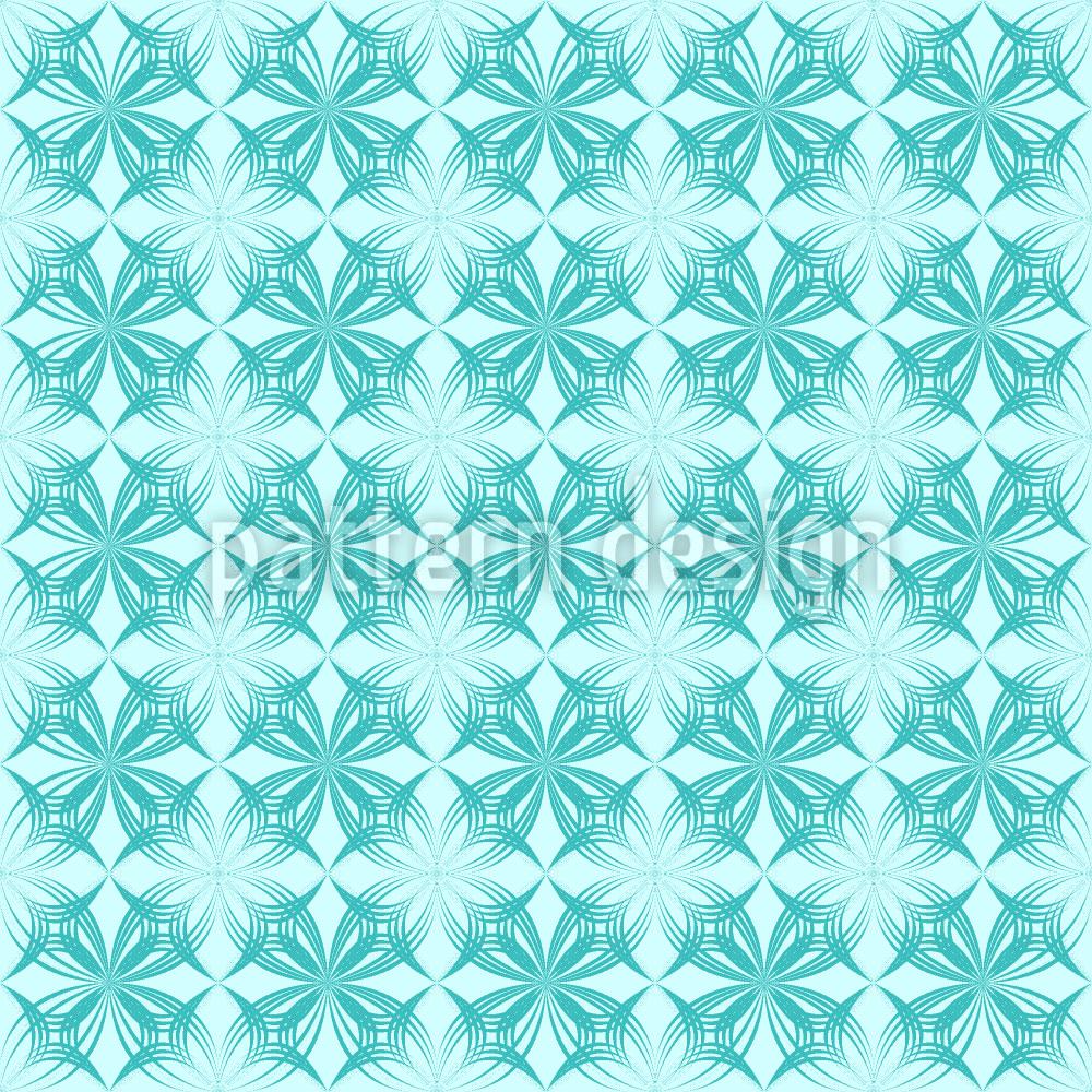 Designtapete Arktik Floral
