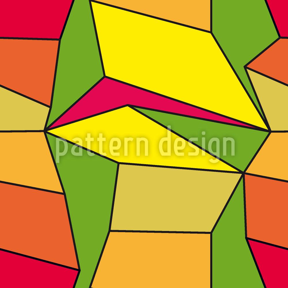 Designtapete Kubismus