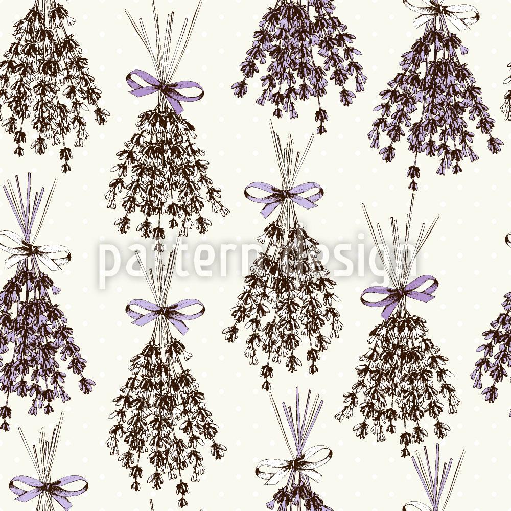 Designtapete Lavendel