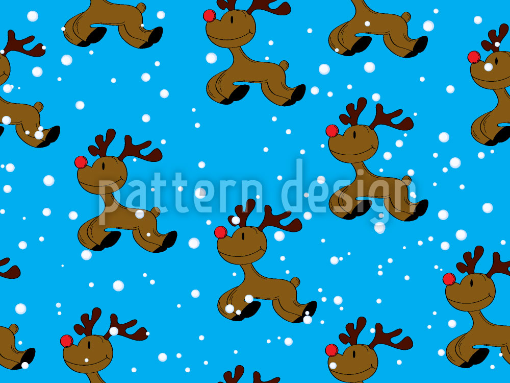 Designtapete Rudolph