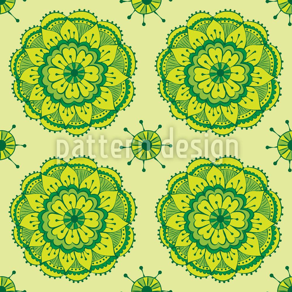 Designtapete Frischer Lotus
