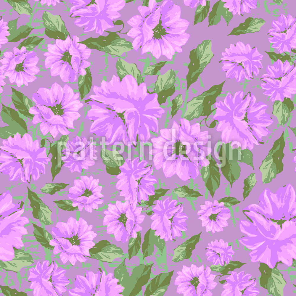 Designtapete Emilys Blumen Melancholie