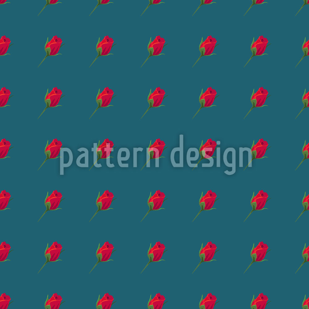 Designtapete Rosen Expression