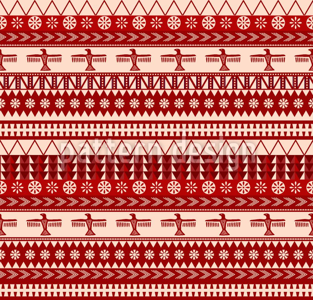 Designtapete Indianische Weihnacht