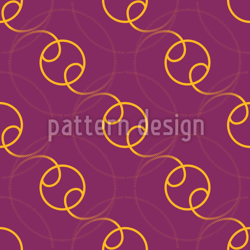 Designtapete Sphären Kreise