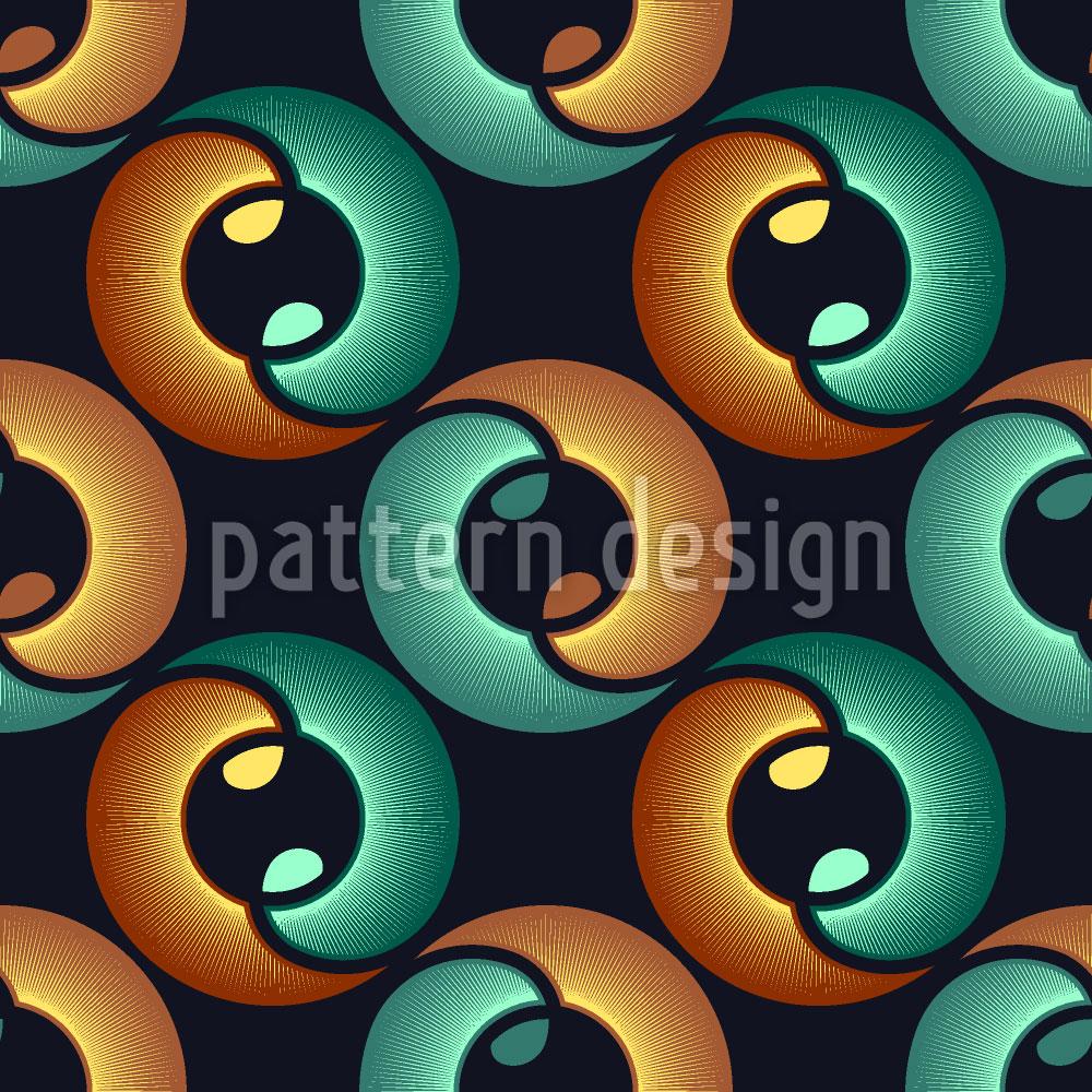 Designtapete Im Auge Des Yin Und Yang