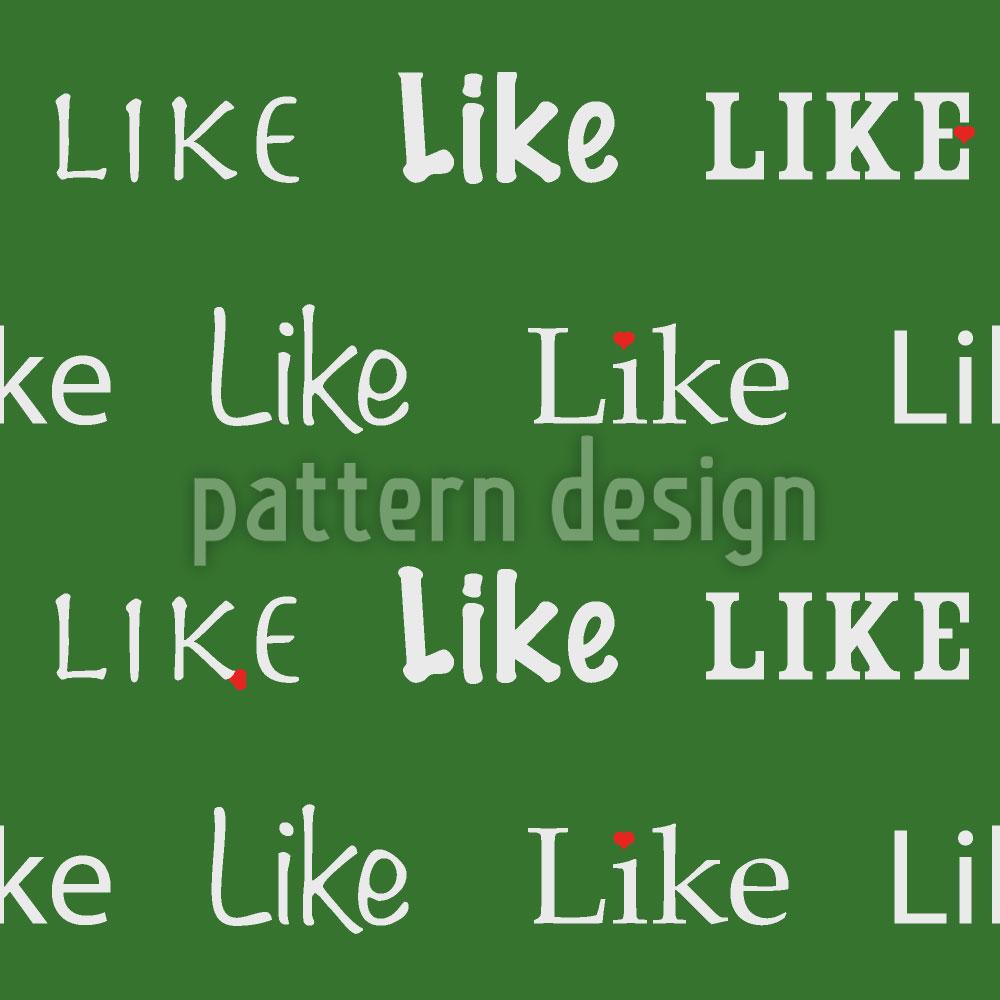 Designtapete I Like