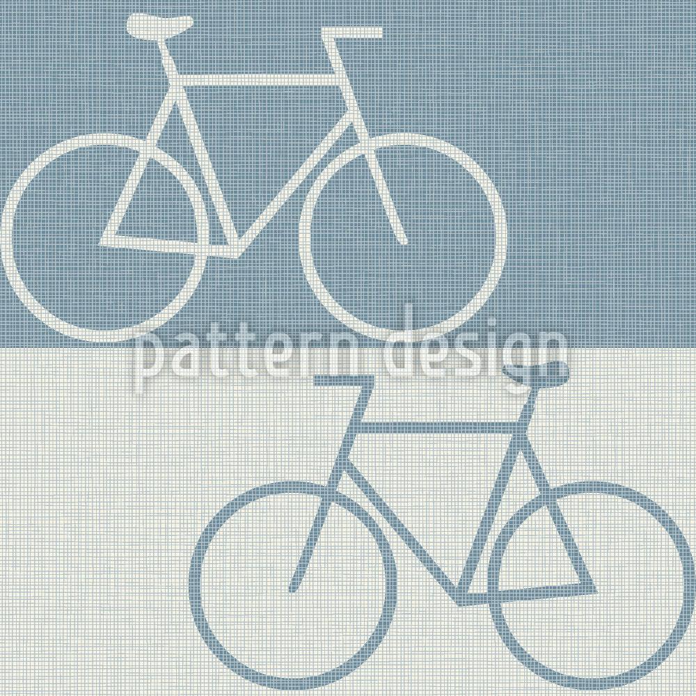 Designtapete Radwege