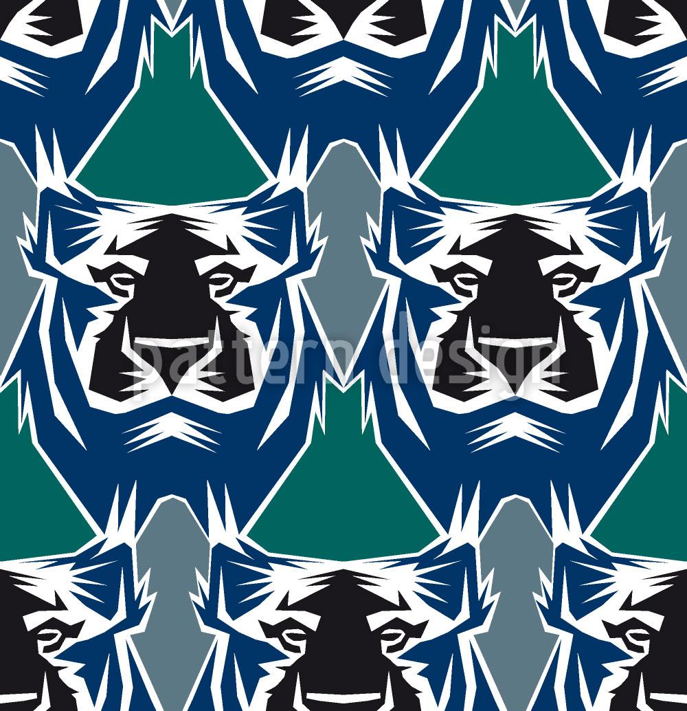 Designtapete Der Tiger Ist Der König Des Dschungels
