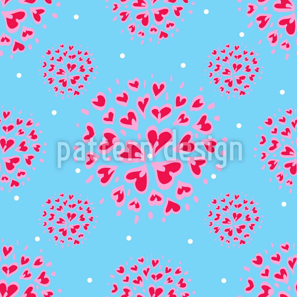 Designtapete Ausbruch der Liebe