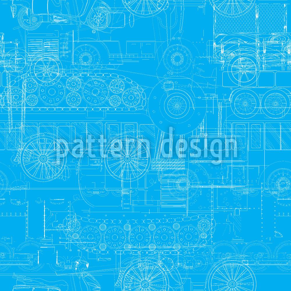 Designtapete Industrielle Revolution Auf Eis