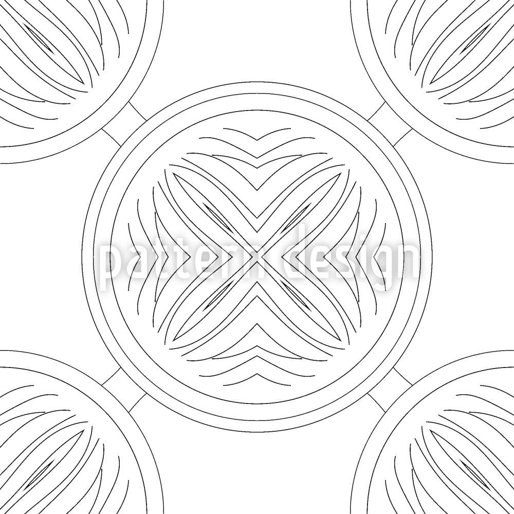 Designtapete Aufbruch Der Kreise