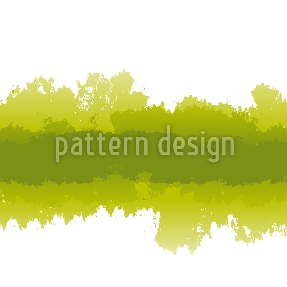 Designtapete Batik Im Grünen