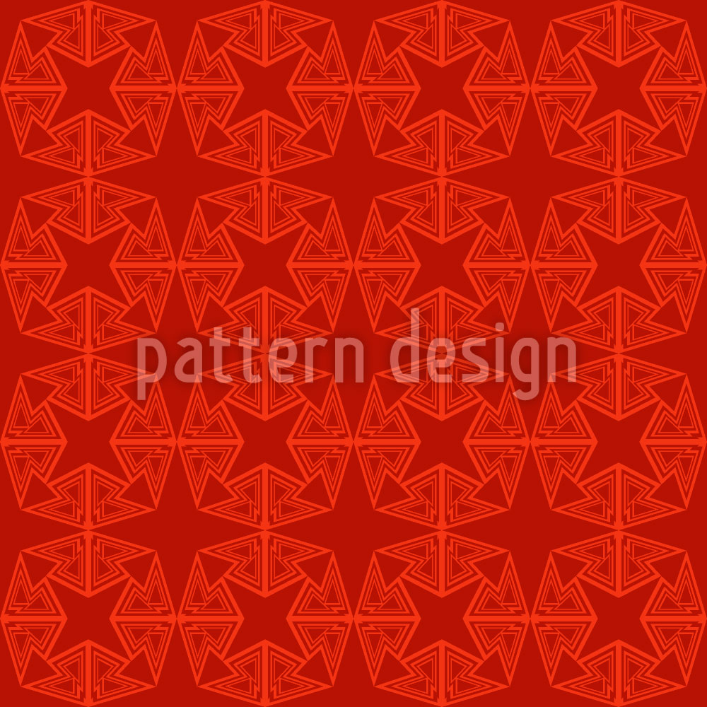 Designtapete Stern Formation