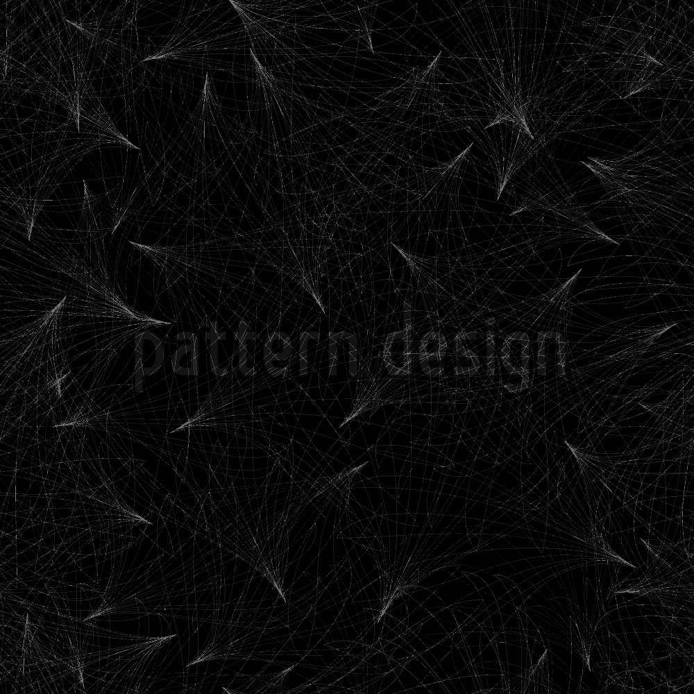 Designtapete Dunkle Netz Visionen