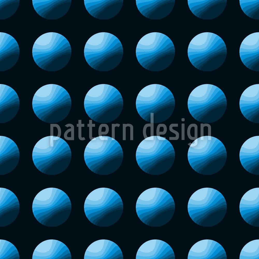 Designtapete Drück Den Blauen Knopf