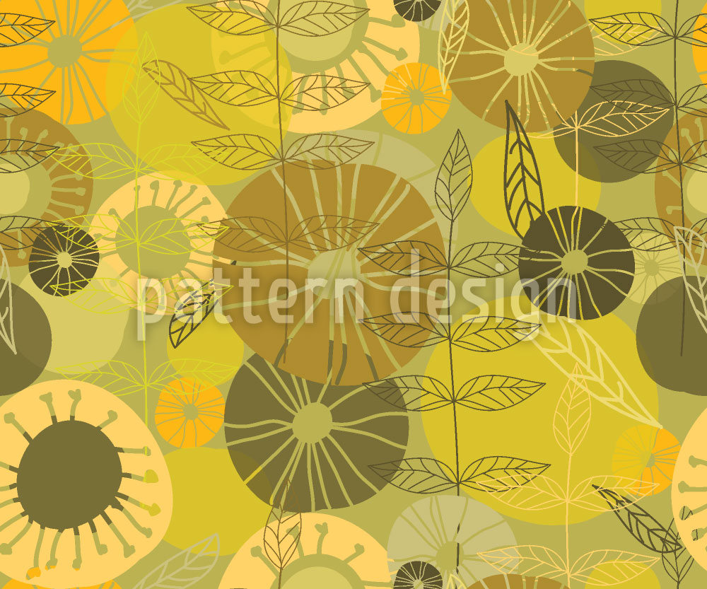 Designtapete Schönste Floral Visionen