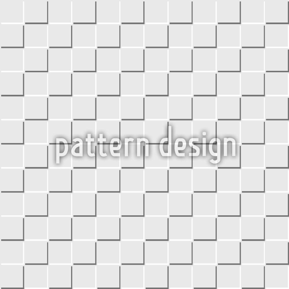 Designtapete Quadrate Monochrom