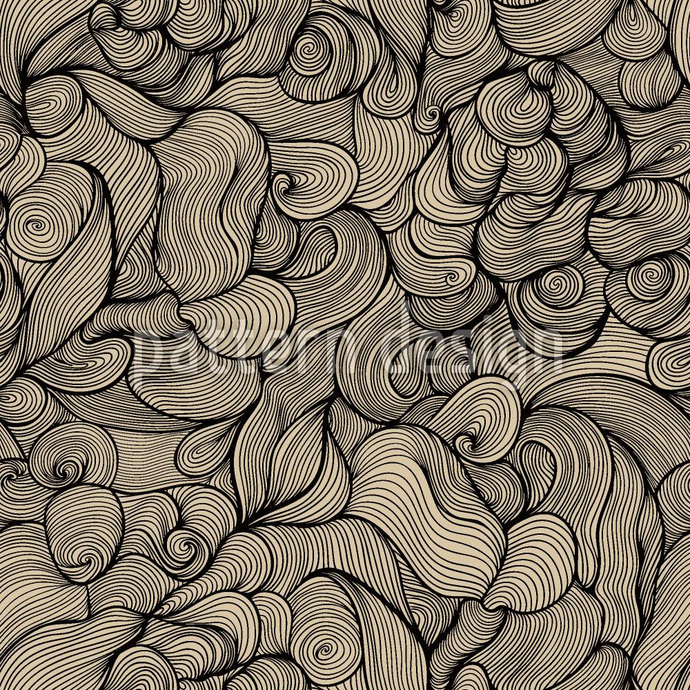 Designtapete Das Haar Der Sirenen