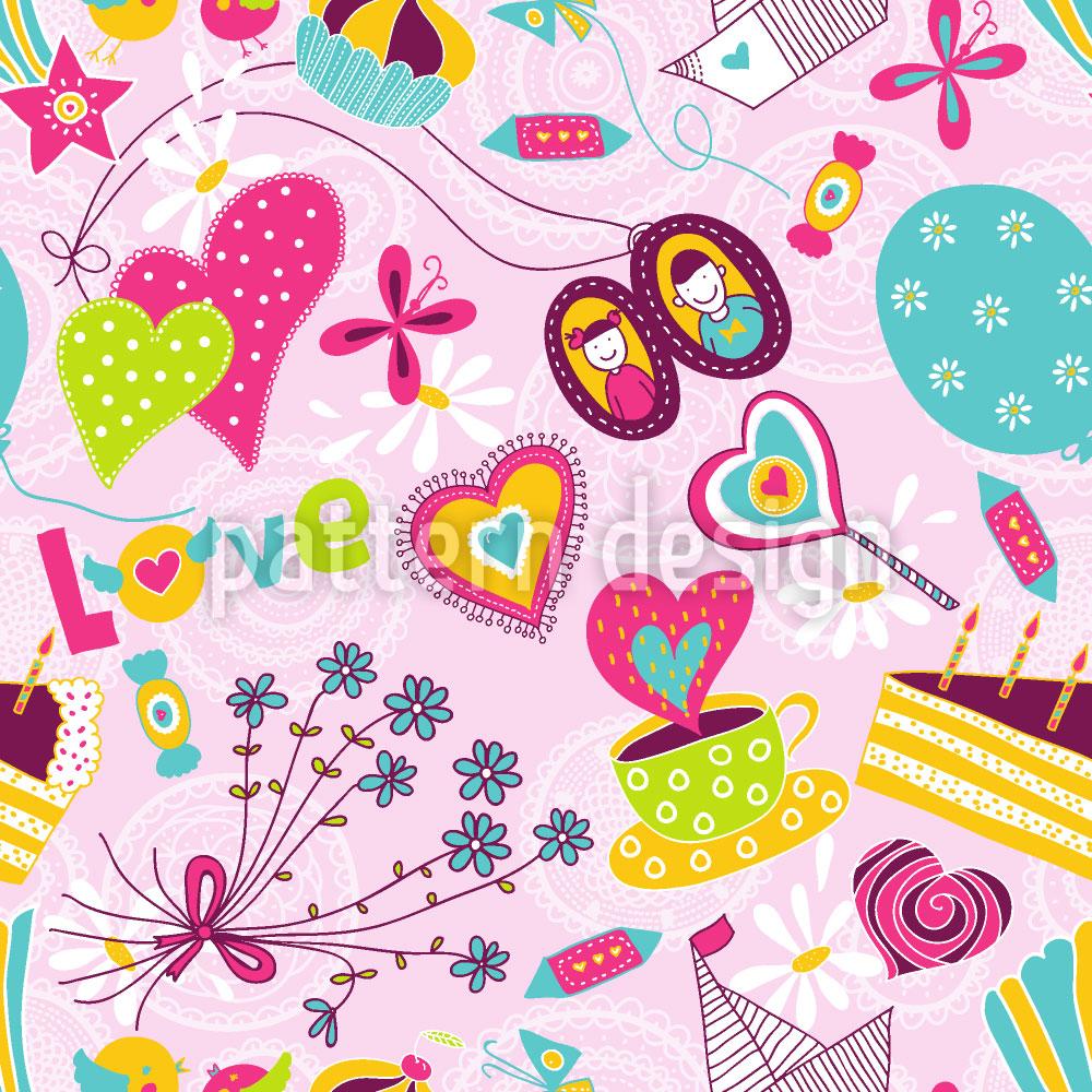 Designtapete Geburtstagsträume