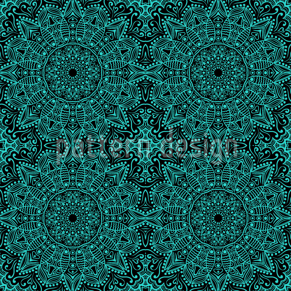 Designtapete Mystic Mandala