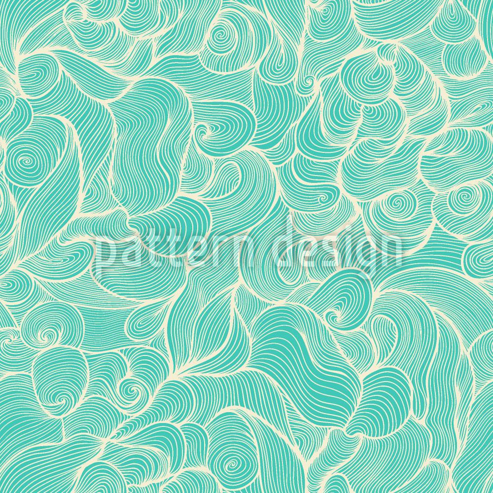 Designtapete Poseidon