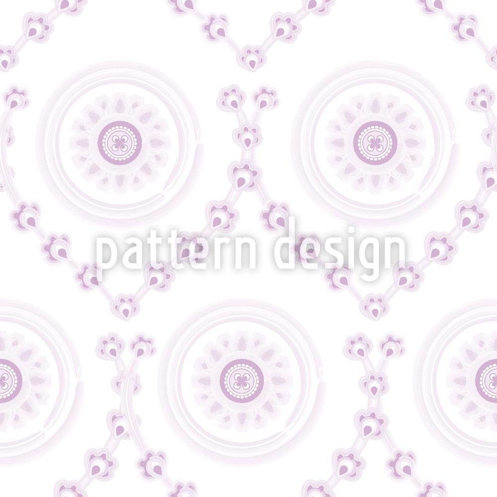 Designtapete Sweet Violet