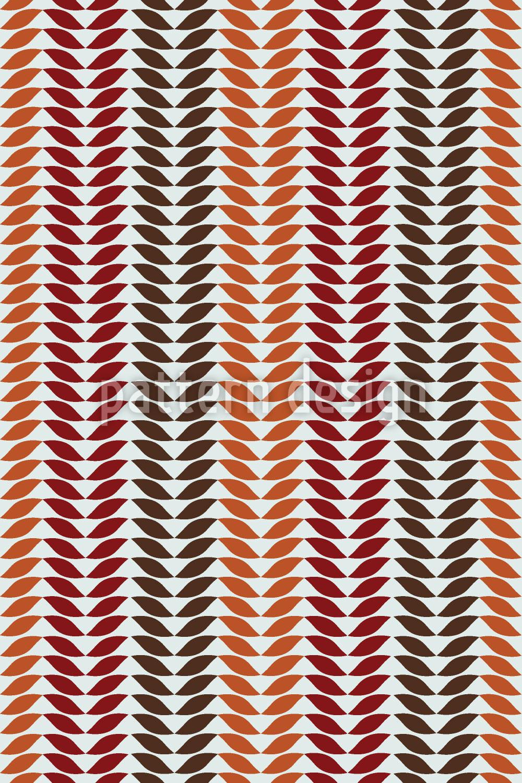 Designtapete Einfach Herbst Blatt