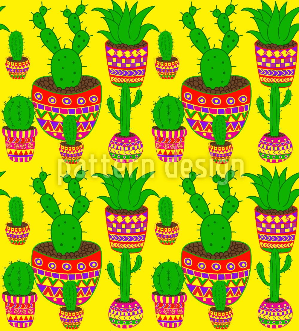 Designtapete Kaktus Mexiko