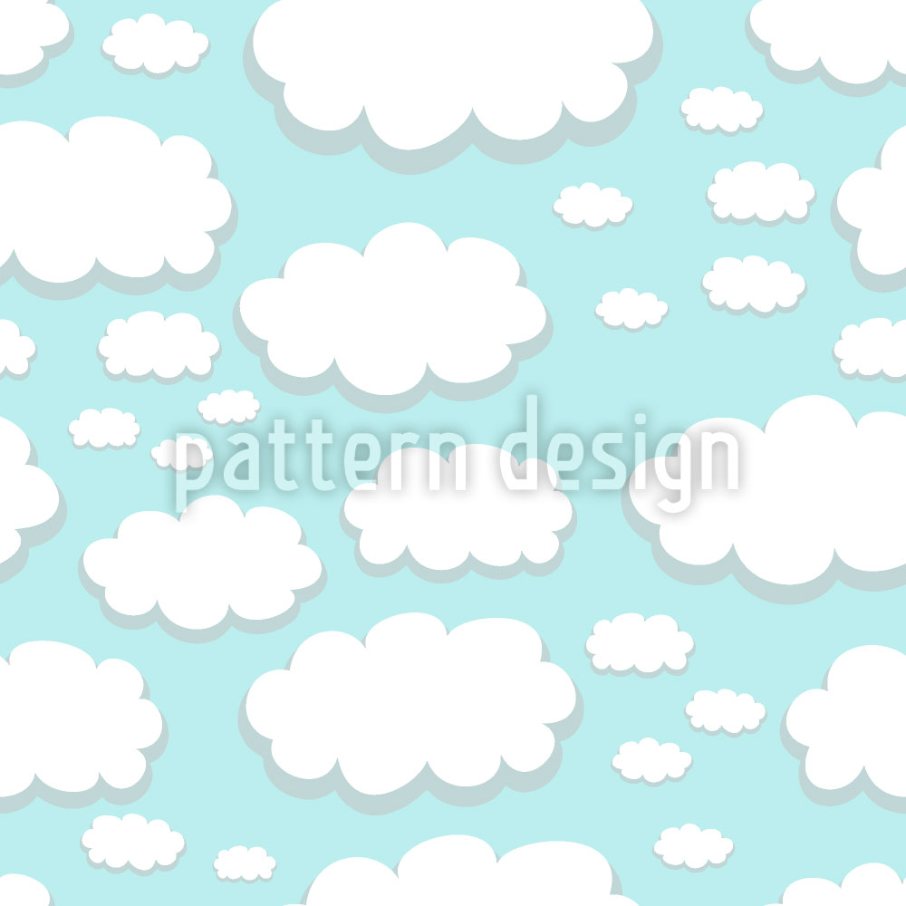 Designtapete Wolken Über Springfield