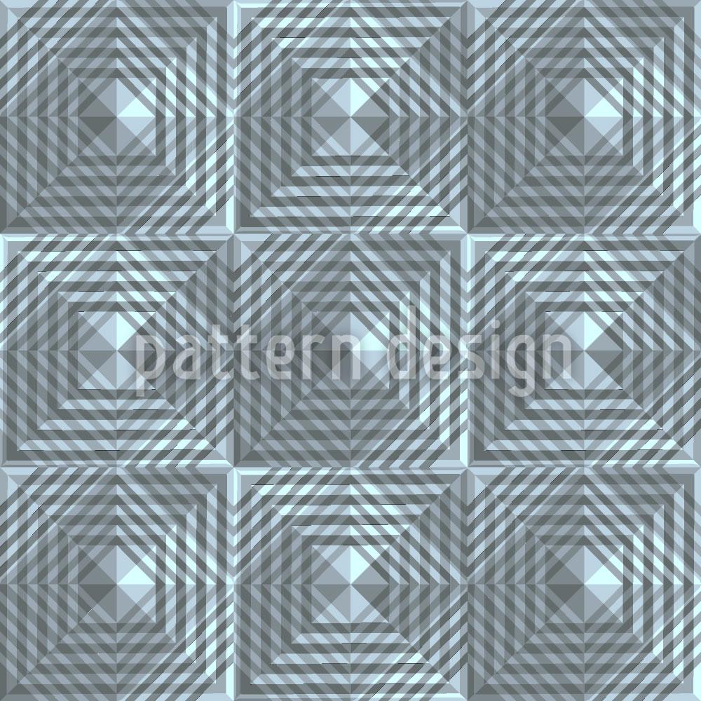 Designtapete Quadrat Struktur