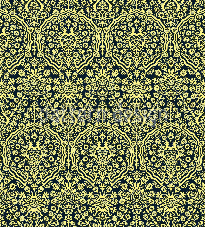Designtapete Jacquard Renaissance