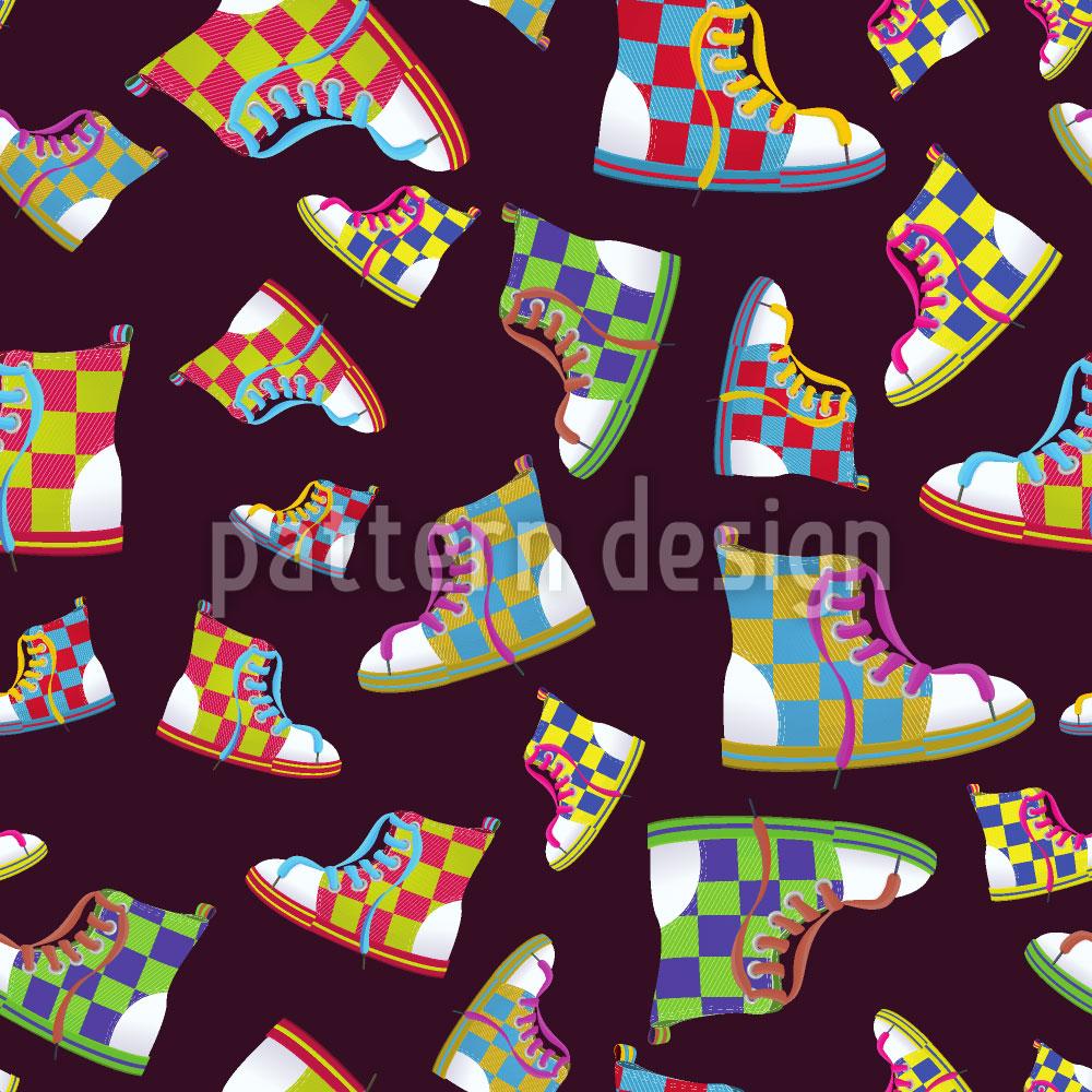 Designtapete Sneakers