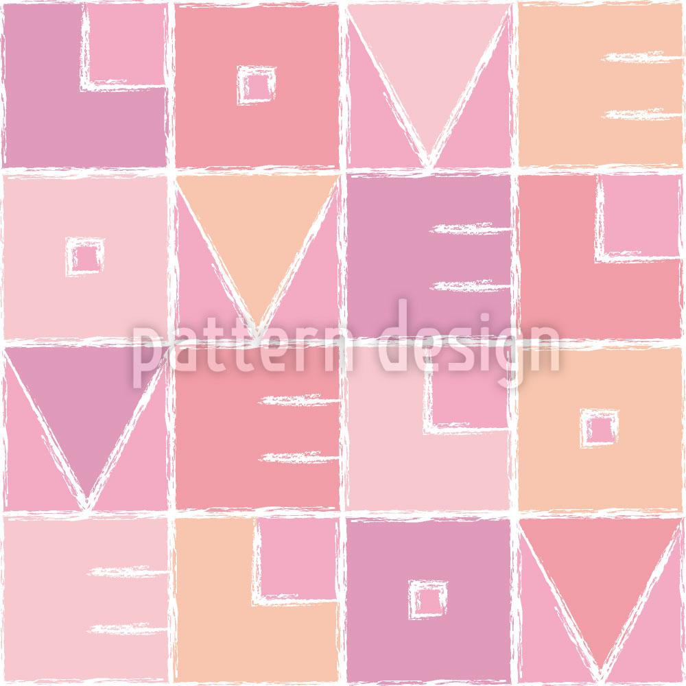 Designtapete Velo Love