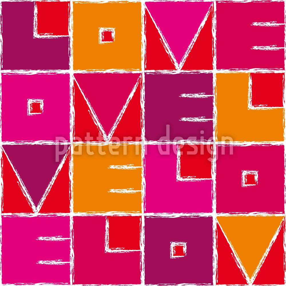 Designtapete Love Velo