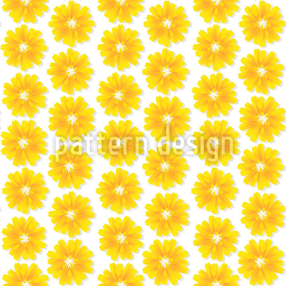 Designtapete Blumen Der Sonne