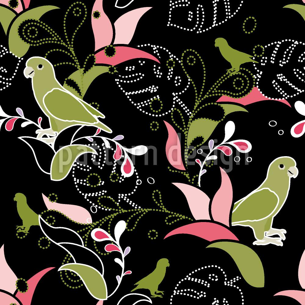 Designtapete Paradiesvögel
