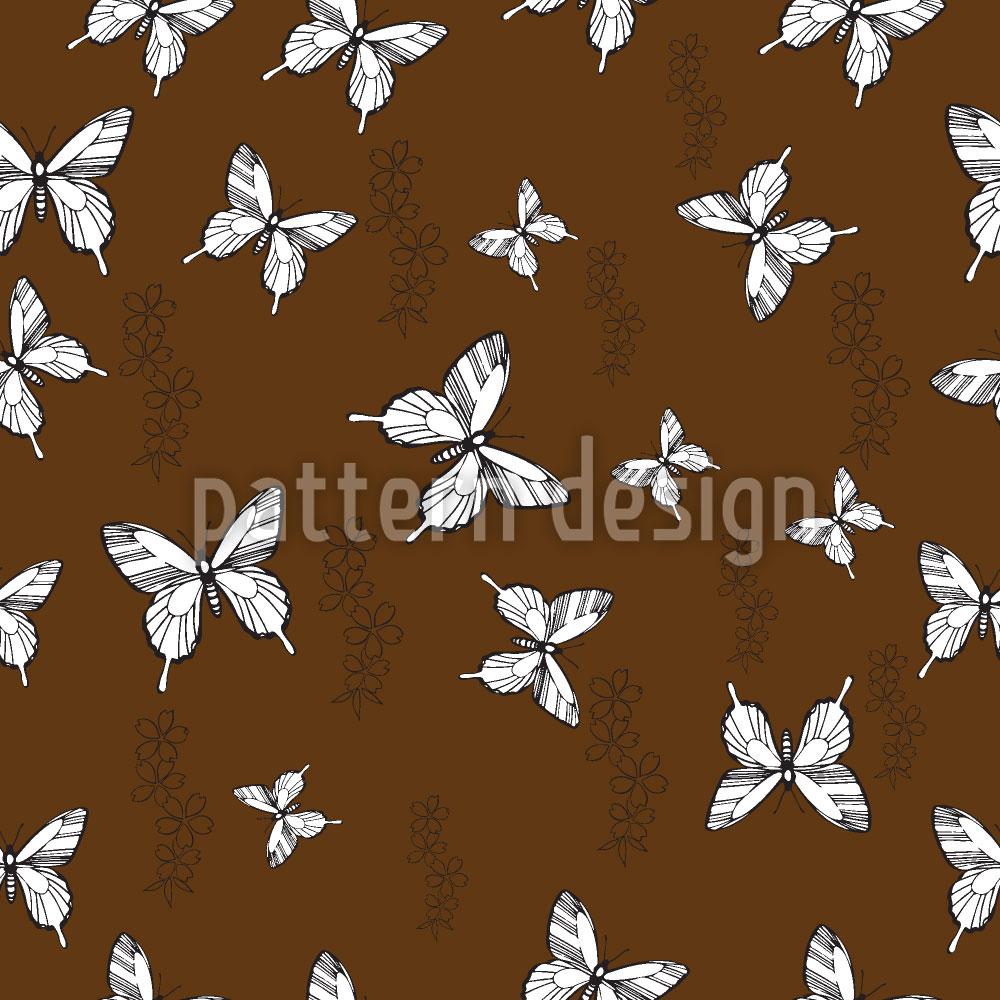 Designtapete Schmetterling Erinnerung