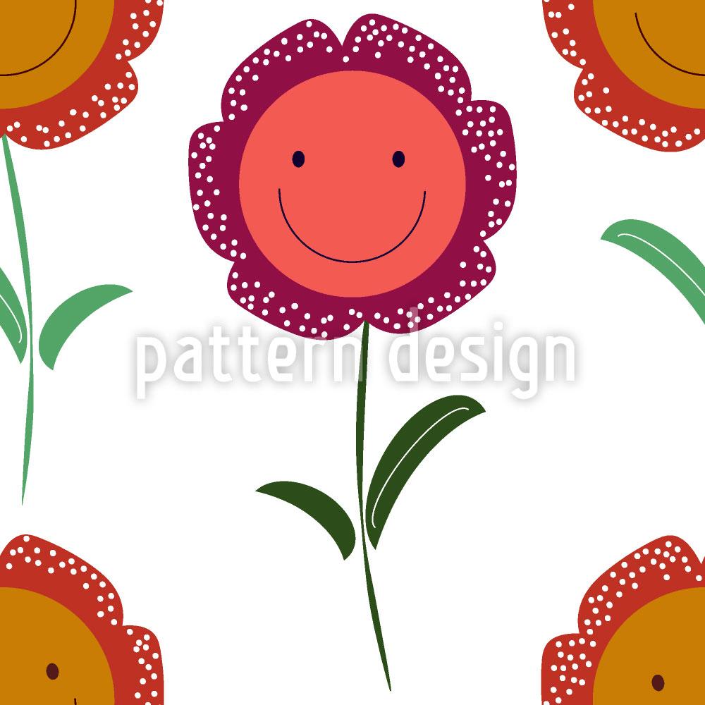Designtapete Fang Dir Ein Lächeln