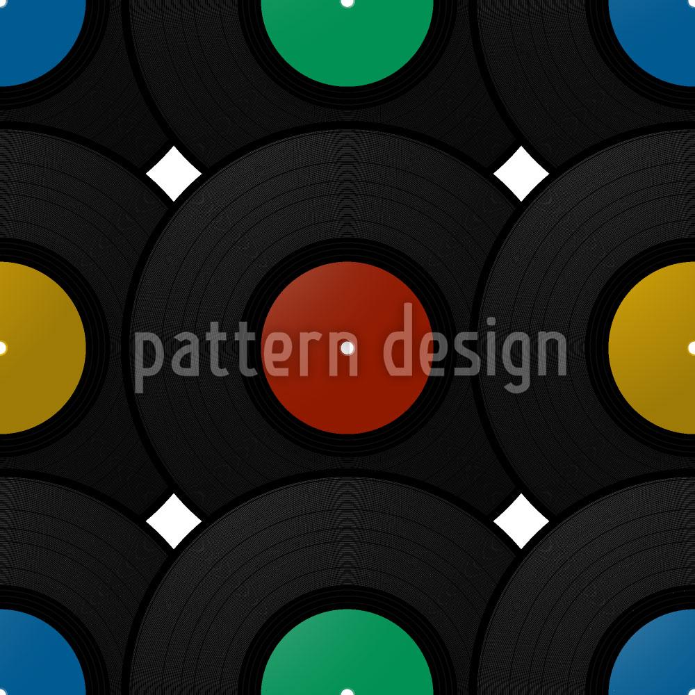 Designtapete Schallplatte